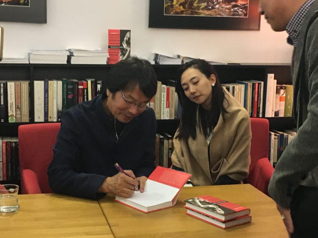 Autor Liou Čen-jun v Praze